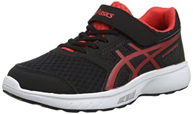 57df22cecc7 ASICS Boys' Stormer 2 Ps Running Shoes Blue: Amazon.co.uk: Shoes & Bags