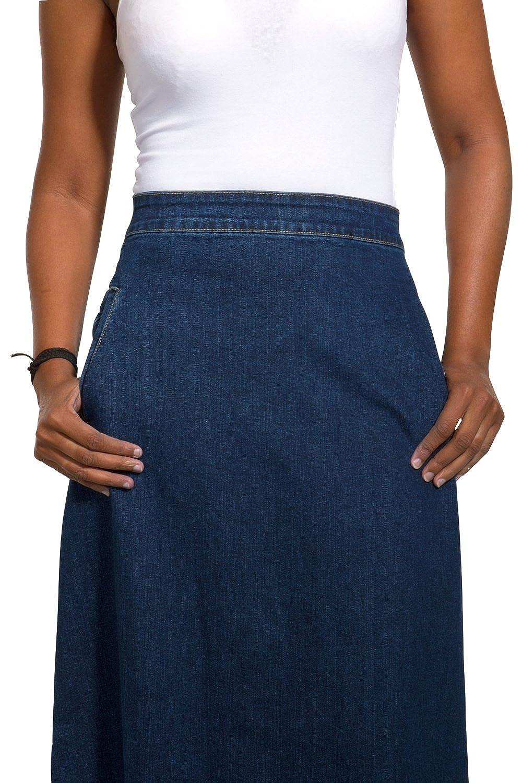 Look Fonc/é Jupe Maxi EU36-50 LOTTIEDW Wash Clothing Company Lottie Jupe Denim Longue