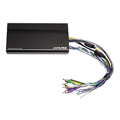 Alpine KTA-450 4-Channel Power Pack Amplifier with Dynamic Peak Power 45W RMS x 4, at 2 Or 4 Ohms: Car Electronics