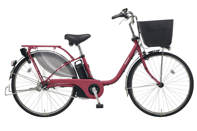 Panasonic(パナソニック) 2019年モデル ビビEX 24インチ BE-ELE435 電動アシスト自転車 専用充電器付  R:マットルージュ B07K1CF2D7