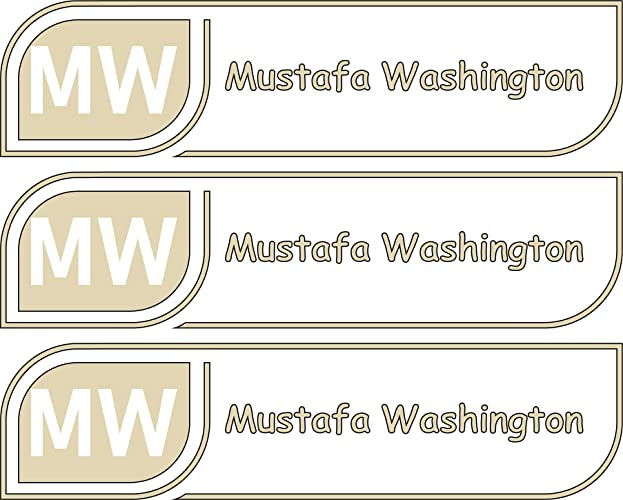 Multiple Colors And Sizes Daycare Labels Microwave And Dishwasher Safe Custom Name Label For Bottles Premium Custom Name Labels Custom Stickers High Quality Custom Name Labels Waterproof