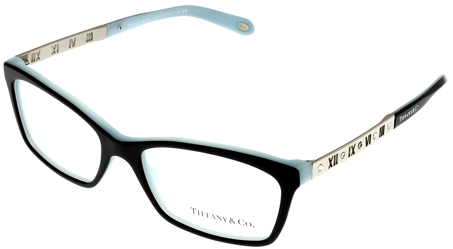 Tiffany & Co. Women Eyeglasses Designer Black Rectangular TF2103B ...