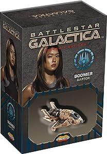 Ares Games Battlestar Galactica Starship Battles: Boomer's Raptor Spaceship Pack