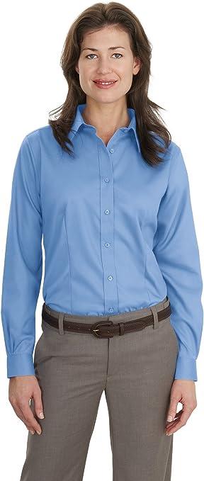 Port Authority Camiseta de Sarga para Mujer, no Necesita ...