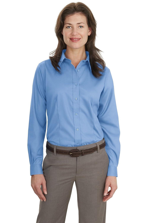 Port Authority Women's Long Sleeve Non Iron Twill Shirt