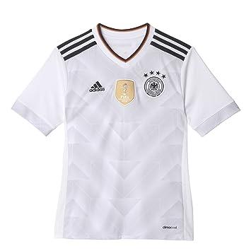 adidas Dfb H Jsy Y Camiseta Oficial 1ª Equipación Federación Alemana de Fútbol, Niños,