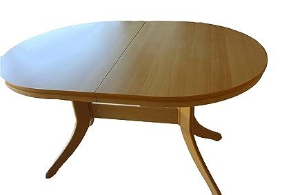 Tavoli Cucina Table Bois Clair Ovale Extensible Amazonfr Cuisine