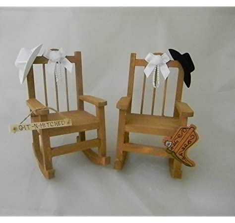 Marvelous Amazon Com Wedding Rodeo Western Reception Rocking Chairs Gamerscity Chair Design For Home Gamerscityorg