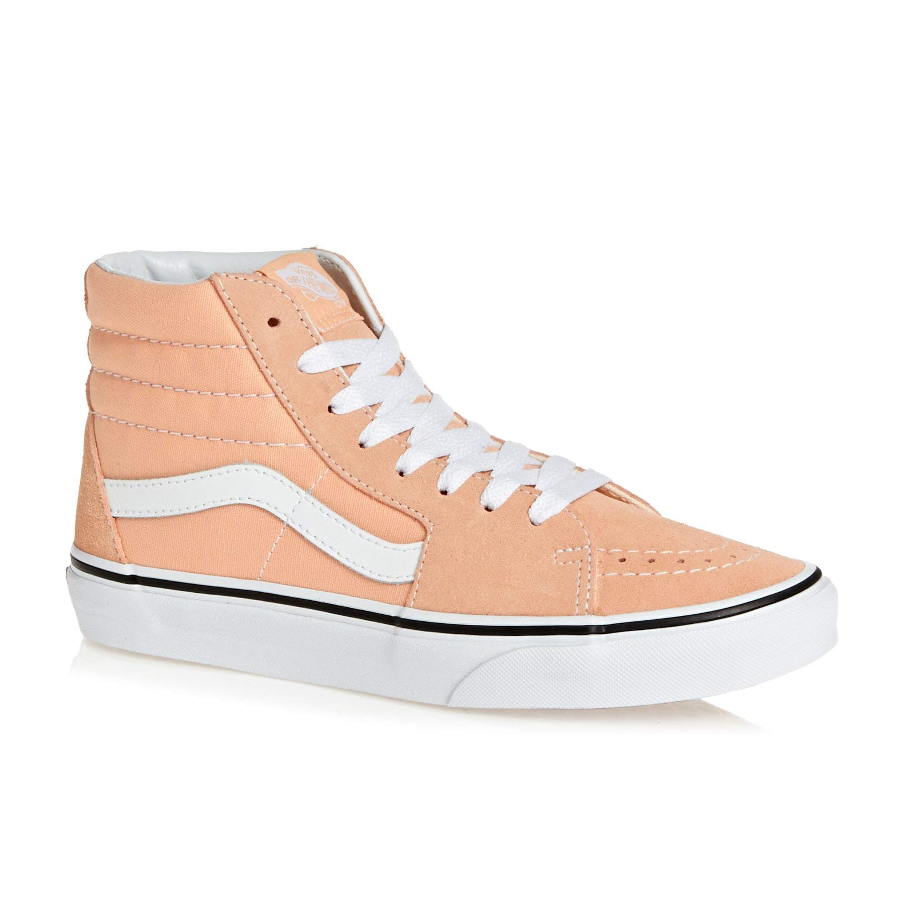 b3e53b1d70 Galleon - Vans Sk8 Hi Shoes 10.5 B(M) US Women   9 D(M) US Bleached Apricot  True White
