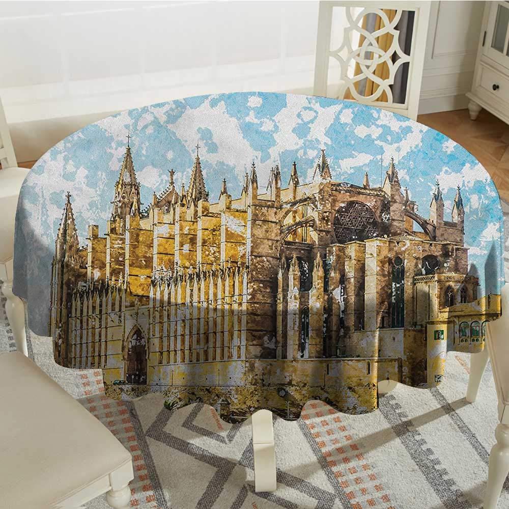 Amazon.com: longbuyer Gothic Patterned Tablecloth Big Gothic ...