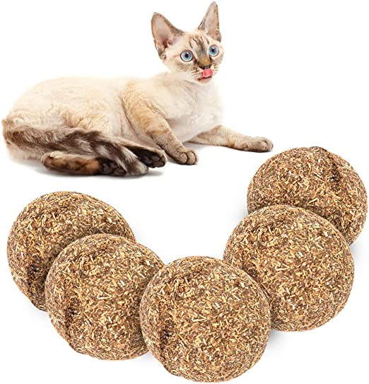 Vidillo - Pelotas de juguete para gatos, juguetes para gatos, juguetes comestibles para gatos, juguete para gatos,