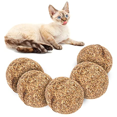 Vidillo - Pelotas de juguete para gatos, juguetes para gatos, juguetes comestibles para gatos, juguete para gatos, ...