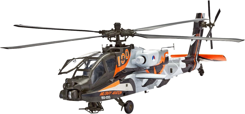 Revell Modellbausatz Hubschrauber AH-64D Longbow Apache Level 4 Maßstab 1:48