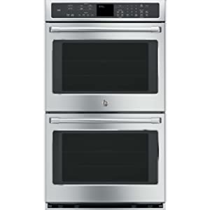 "GE CT9550SHSS Cafe 30"" Stainless Steel Electric Double Wall Oven - Convection"