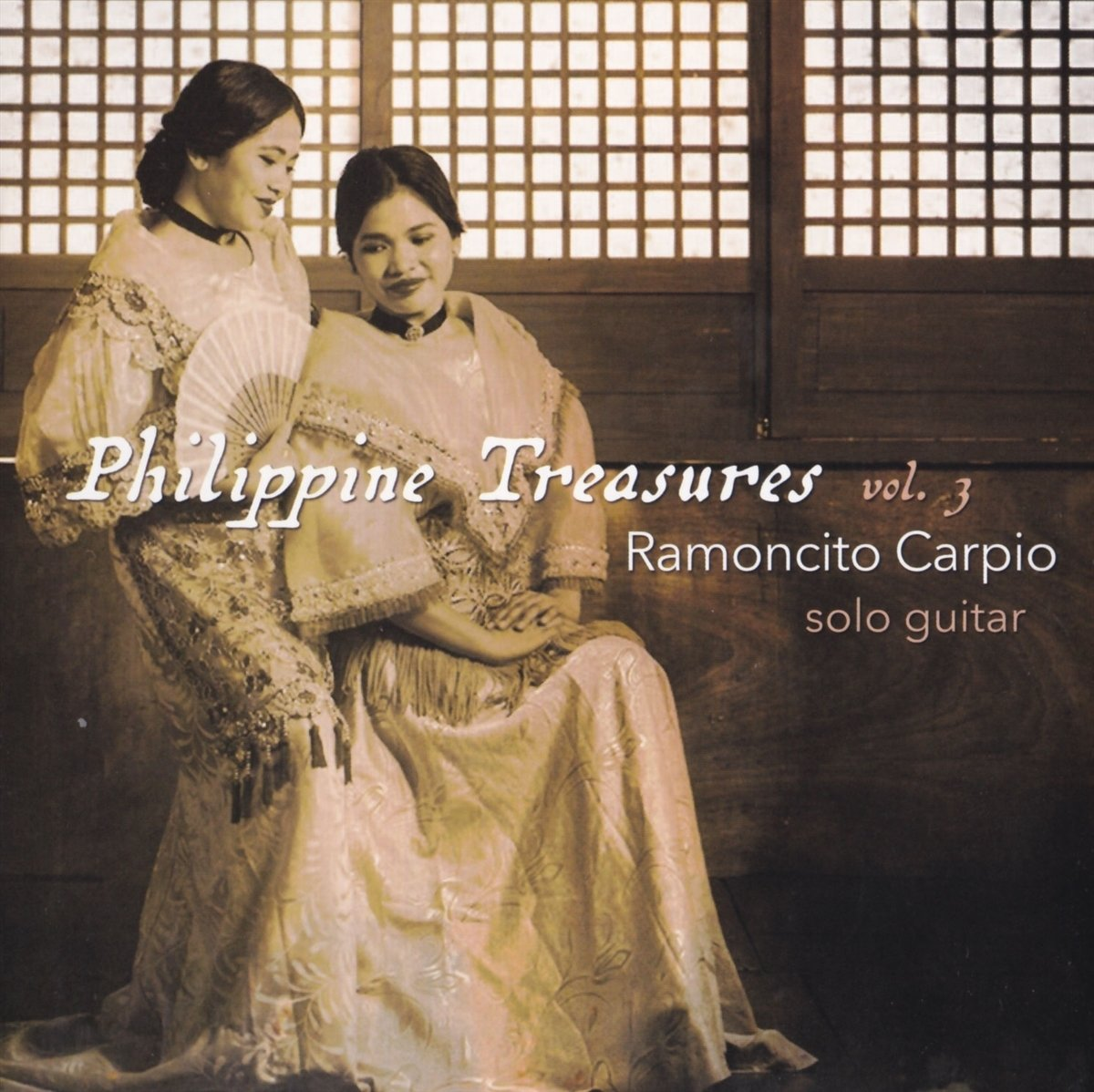 CD : Ramoncito Carpio - Philippine Treasures: 3 (CD)