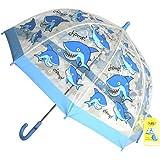Bugzz - Parapluie transparent Garçon - Modèle Requin