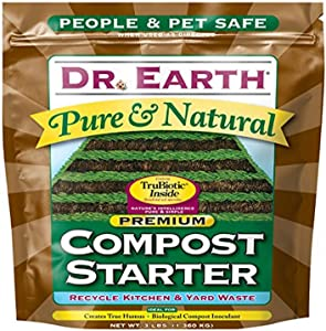 Dr. Earth 727 Compost Starter,Multicolor,3lb