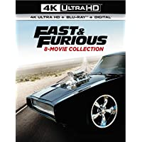 Deals on Fast & Furious 8-Movie Collection 4K UHD Digital + Blu-ray