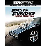 Fast & Furious 8-Movie Collection (4K Ultra Hd/Blu-Ray/Digital)