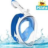 weird tails 2019 Upgraded Full Face Snorkel Mask, Foldable Snorkeling Mask for Adults and Kids with Camera Mount 180° Large Panoramic View Easy Breath Dry Top Set Anti-Fog Anti-Leak