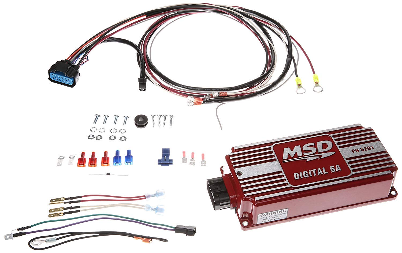 Msd Ignition 6201 6 Amp Control Box Automotive Coil Buzz