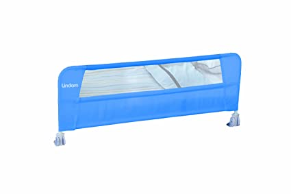 Lindam Safe & Secure - Valla de cama, Color Azul