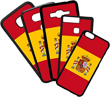 QFUNDAS Fundas De Moviles Carcasas De Moviles Funda Carcasa Compatible con Bandera de España: Amazon.es: Electrónica