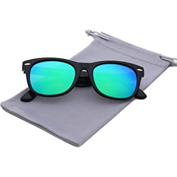 c391263ba87 YAMAZI Kids Polarized Sunglasses Sports Fashion For Boys And Girls Mirrored  Lens