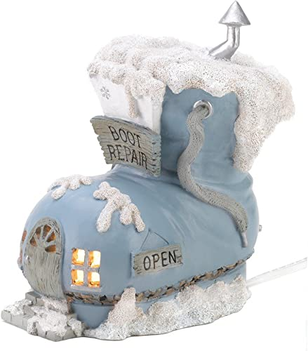 Encore Snowbuddies Snow Buddies Snowville Illuminated Boot Repair Shop