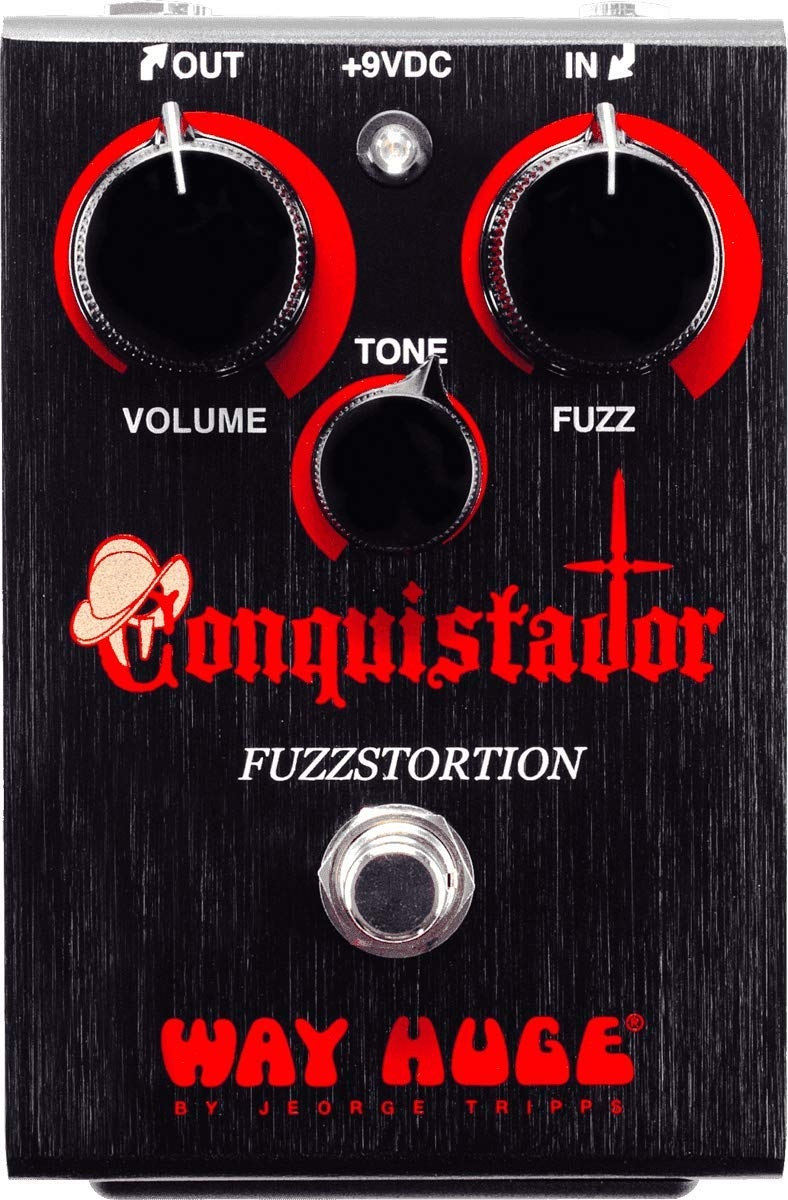 Dunlop Way Huge WHE406 Electronics Conquistador Fuzzstortion Fuzz Pedal!
