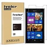 Nokia Lumia 925 Panzerglas Schutzfolie, iVoler Panzerglasfolie folie Displayschutzfolie Hartglas Gehärtetem Glas DisplayPanzerglas Schutzfolie Displayschutz für Nokia Lumia 925