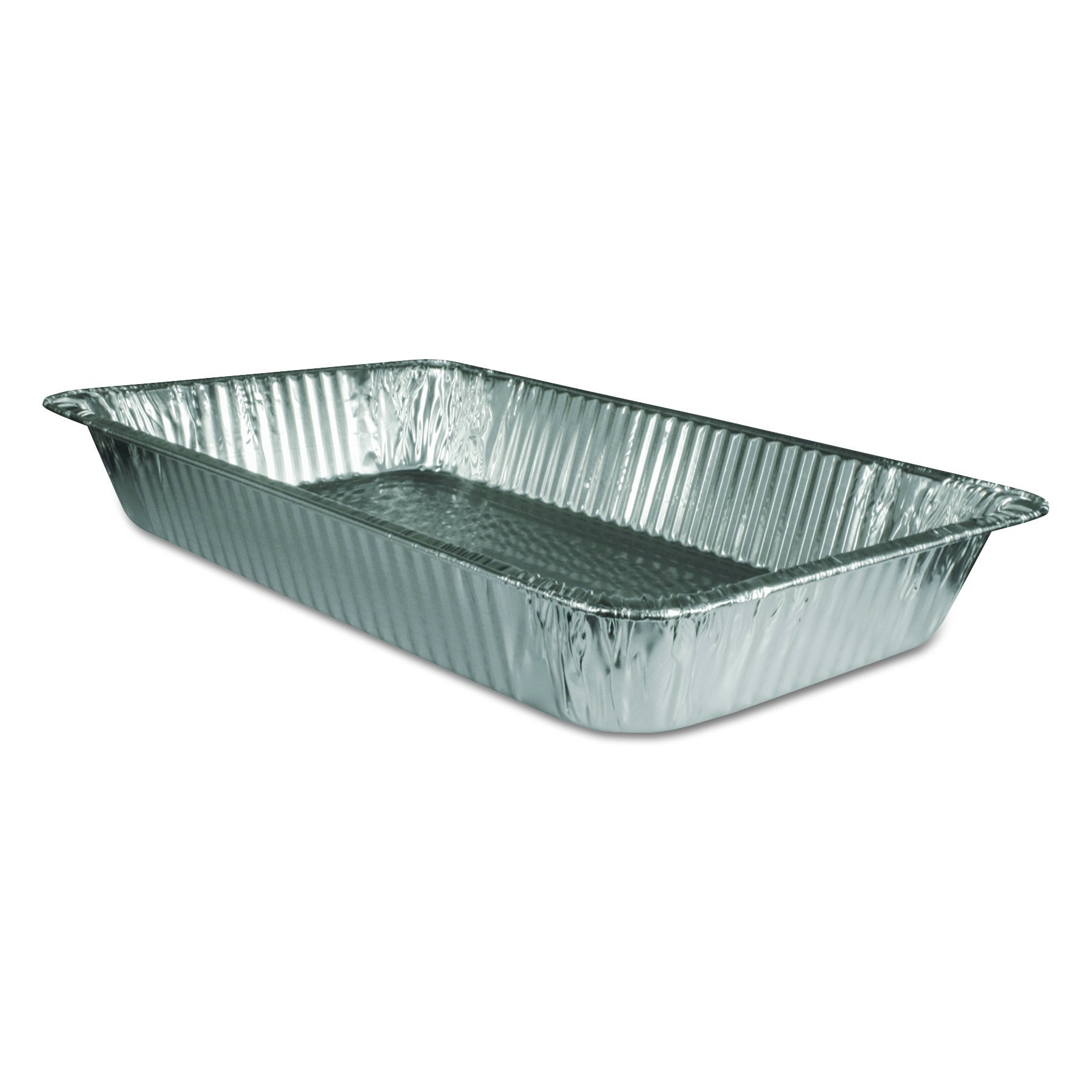 Handi-Foil of America 20197050U Steam Table Aluminum Pan, Full-Size, 3 3/16'' Deep (Case of 50) by HFA