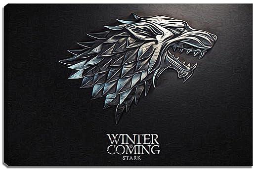 Dark Stark, Juego de Tronos en Escena Formato lienzo: 100x70 ...