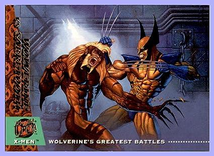661c135bc54 1994 X-Men Ultra #137 Wolverine vs. Sabretooth at Amazon's Sports ...