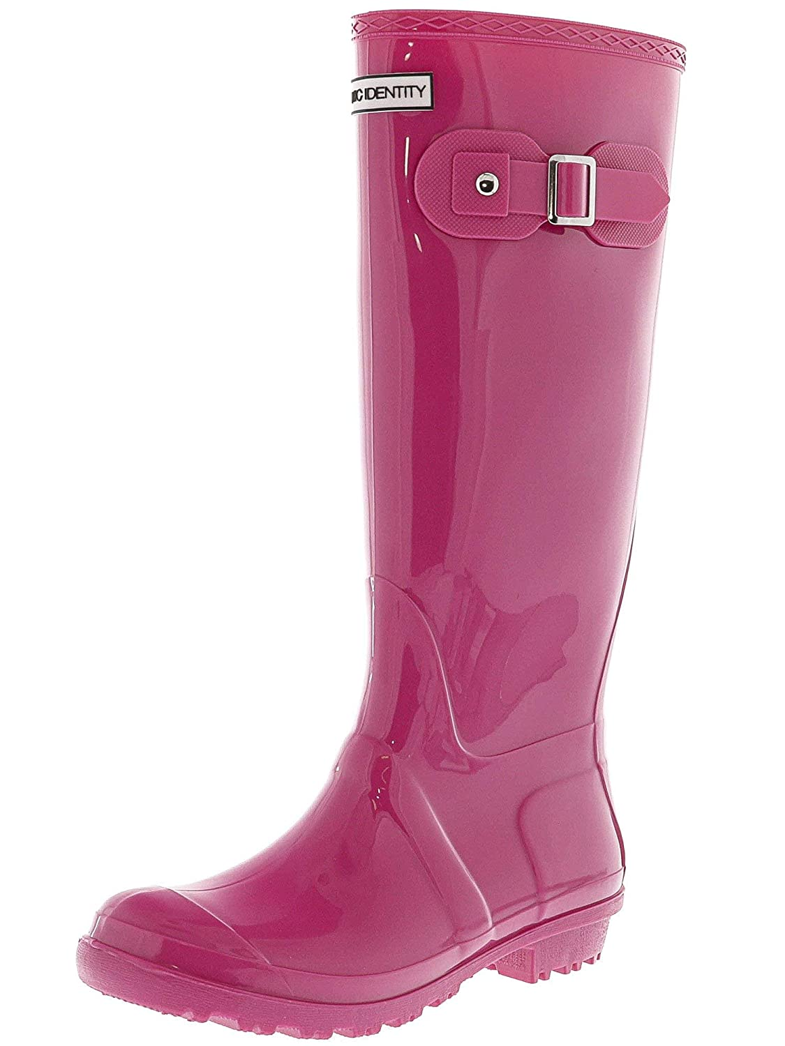 Gloss Pink Exotic Identity Original Tall Rain Boots