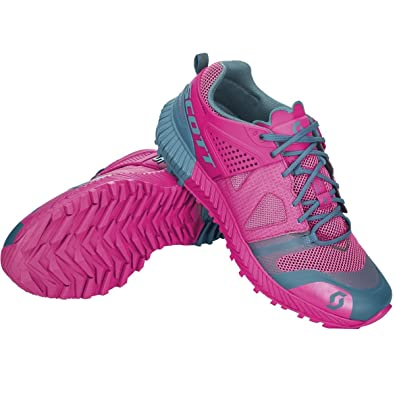 0d6bdf8d426 Scott Kinabalu Power Chaussures Trail Femme Rose Bleu 39  Amazon.fr ...