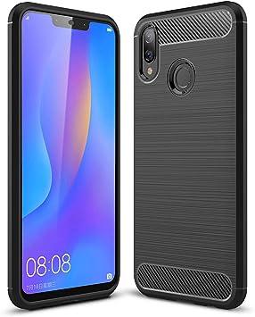 SPAK Huawei Nova 3i,Huawei P Smart Plus Funda, TPU Ultra Delgado ...