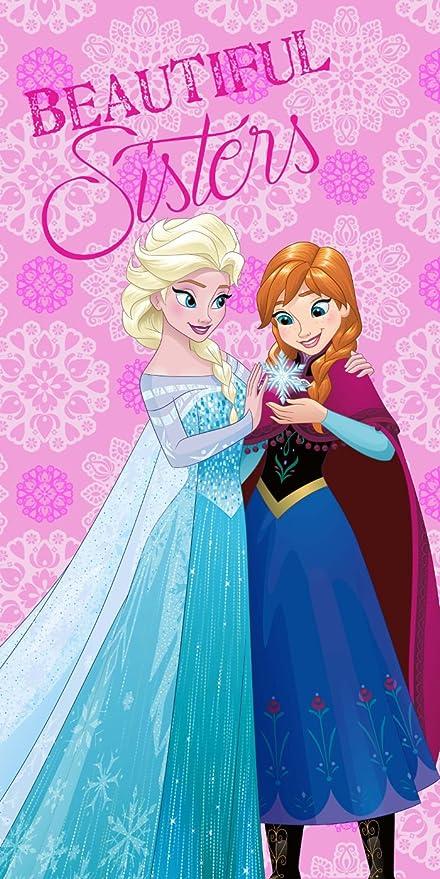 Kisenè Toalla Playa Disney Frozen 70 x 140, 70 x 140 cm