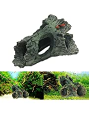 LAY'S Aquarium Landscaping Trunk Bole Driftwood Cave Decoration Fish Tank Synthetic Resin Ornament