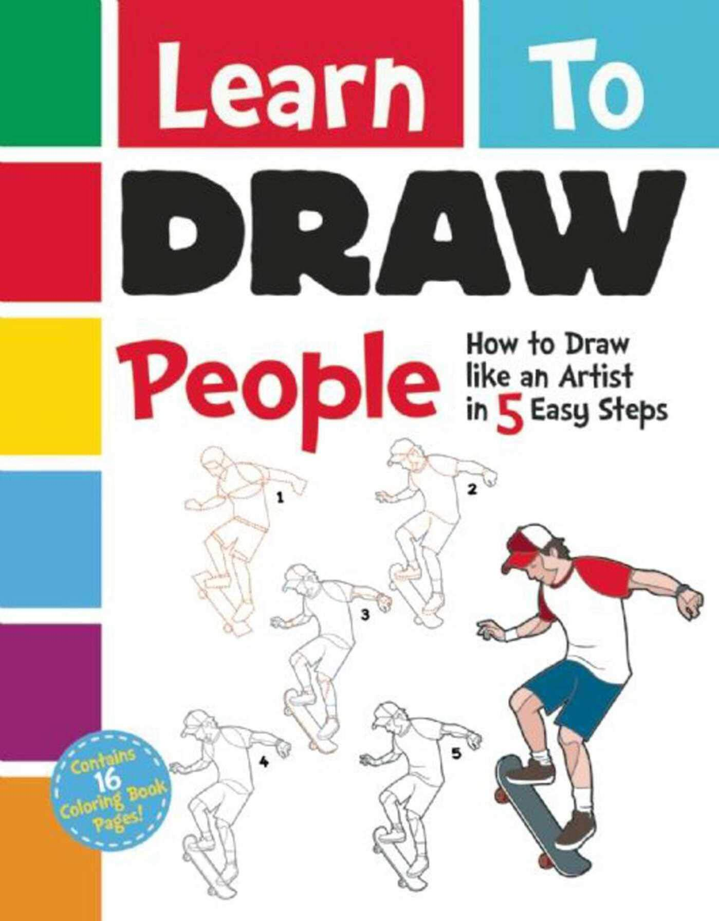 Learn to draw people how to draw like an artist in 5 easy steps paperback november 15 2016