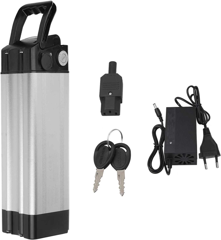 Vinteky 24V 20AH Ebike Battery, Batería para Bicicleta de Iones de Litio con Cargador y Soporte