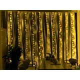 Led Curtain String Light Music Control for Bedroom Wedding Party Window Decorate (Music Curtain Lights)