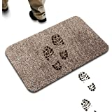 Super Absorbent Mat Absorbing Mud & Water Remove Dirts Doormat, Magic Step Clean Mat Indoor Non Slip Home Entrance Rug