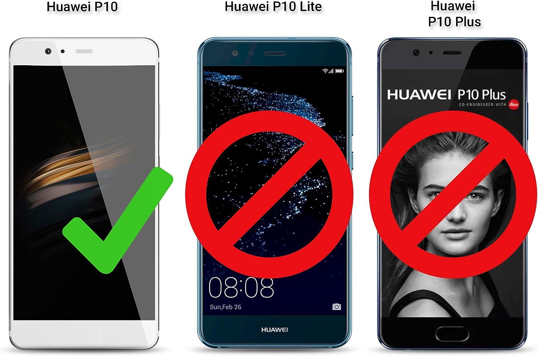 Moozy Funda para Huawei P10, Negra: Amazon.es: Electrónica