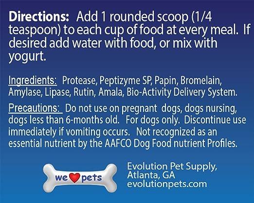 Amazon.com: Vida útil sistémico enzimas para perro la ...