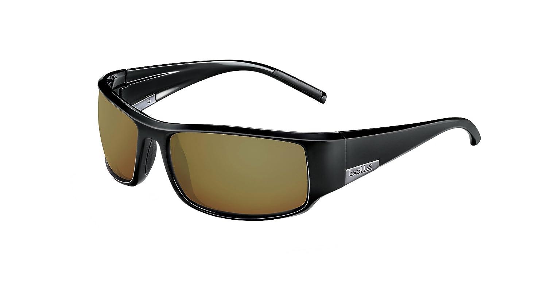a238bd2f50eee Amazon.com  Bollé King Sunglasses Matte Black Large Unisex  Bolle  Sports    Outdoors