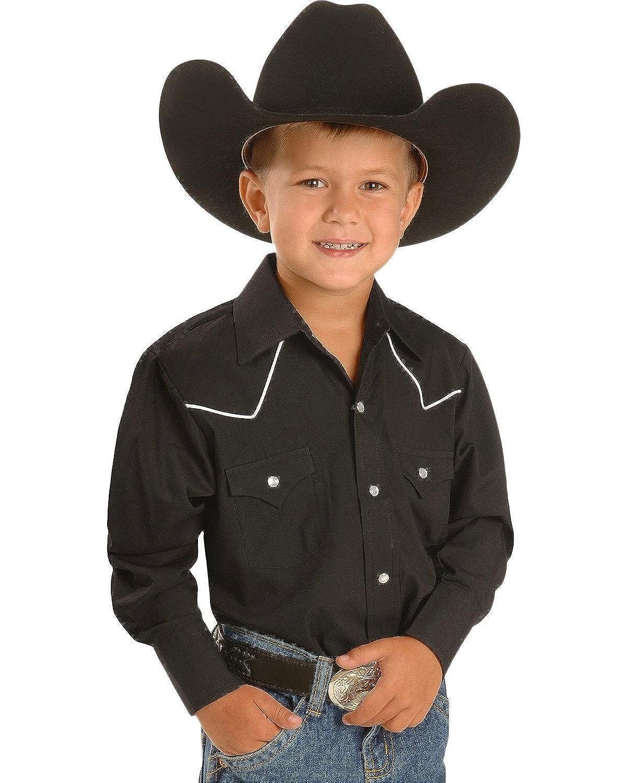 ELY CATTLEMAN Boys' Western Shirt - 10298089 Ely and Walker 15102980BK-89