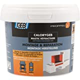 GEB 103512 Calorygeb Mastic réfractaire Boîte N° 2 600 g