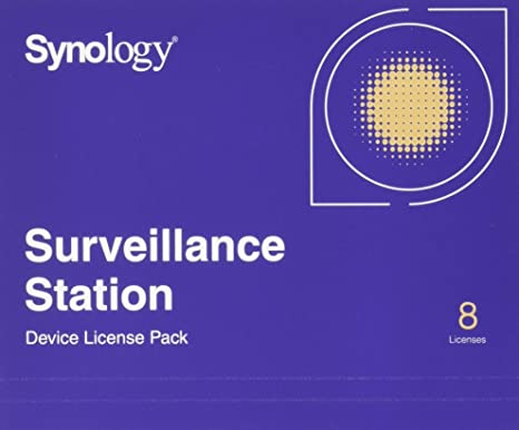 Synology IP Camera License Pack for 8 (CLP8)