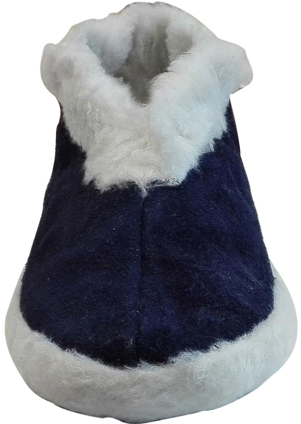 offizieller Laden Shop für echte ungeschlagen x Warme Hausschuhe aussen mit echtem Leder Hausschuhe Damen oder ...